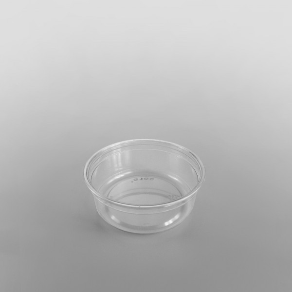 Solo Clear rPET Round Deli Container