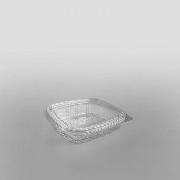 Somoplast Economy Hinged Clear Rectangular Container