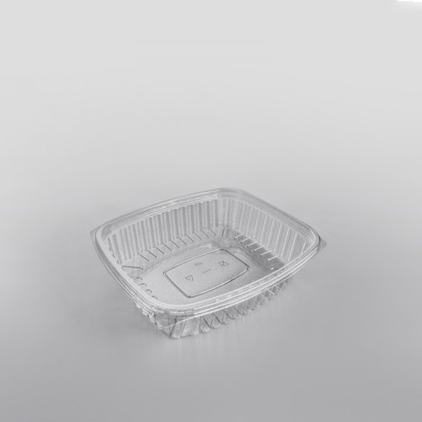 Somoplast Clear Separate Lid Rectangular Container