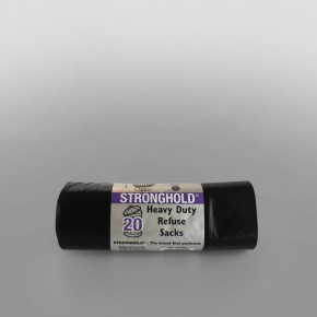 Black Bag on Roll [20x20 Rolls] [385 x 350 x 840mm]