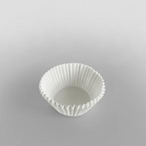 Bun Case Plain White 50mm