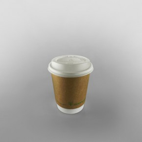 Compostable Coffee Cup Double Wall Kraft