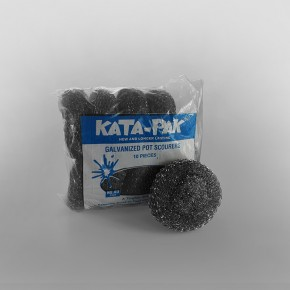 Galvanised Metal Scourer W40 [100 x 75 x 35mm]
