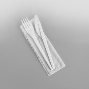 Cutlery Pack (Napkin, Fork, Knife)