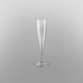 Clear Disposable Champagne Tulips [184ml]