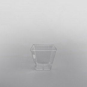 GPI Moulipack Clear hard Disposable Glass