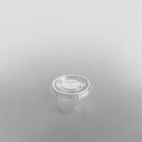 Dart Plastic Sauce Container Round