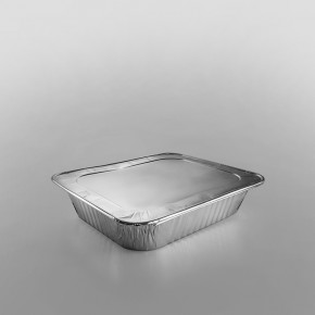 Half Deep Gastronorm Foil Container - Rolled Edge [10x12x2.5inch]