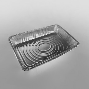 Full Deep Gastronorm Foil Container - Rolled Edge [527x325x96mm]