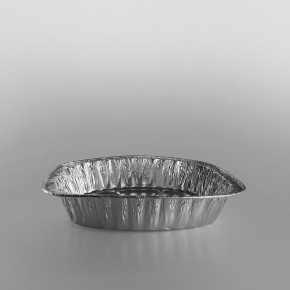 Oval Roaster Aluminium Container