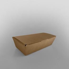 Kraft Hinged Take Away Food Container