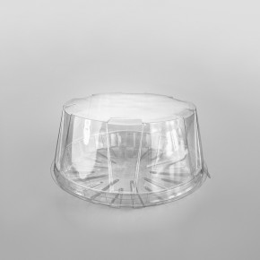 GPI Actipack [18DXN10] Clear Cake Base [7inch]