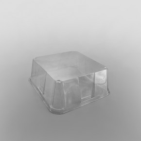 GPI Actipack Clear Square Gateaux Domed Lid [7.5 x 7.5 x 3inch]