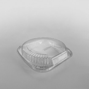 GPI Patipack Clear Hinged Pie Box [8 inch]