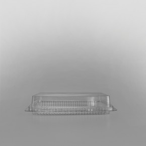 GPI Traitipack Clear Hinged Small Rectangular Bakery Container [310cc]