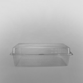 GPI Traitipack Clear Hinged XXL Rectangular Bakery Container [5300cc]