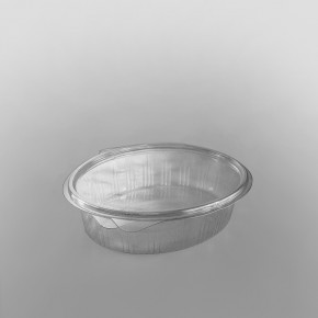 GPI Elipack Oval Hinged Salad Container [750cc]