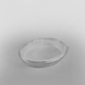 Somoplast Clear Hinged Oval Container