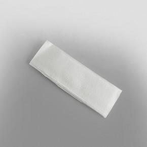 Z-fold white Hand Towel 2ply [24 x 24cm - When Unfolded]