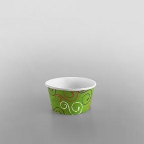 Paper Ice Cream Cups Green Design