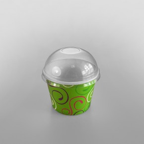 Ice Cream Lid White To Fit Green Design
