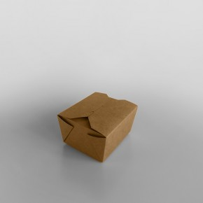 Paper Food Box Brown