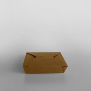 Paper Food Box Brown [Alternative]