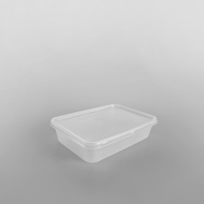 Economy Microwave Containers and Lids