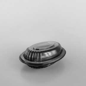 Anchor Black Oval Microwavable Platter [355ml]
