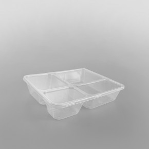 MK 3 Comp Clear Microwave Container & Lids