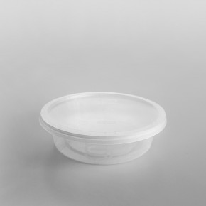 Satco Round Microwave Containers & Lids [1100ml]