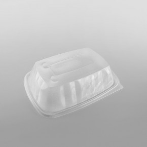 Somoplast Microwavable Lid For Extra Large Black Microwavable Take Away Container