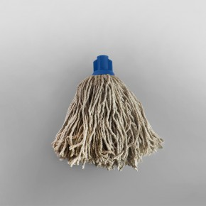 Mop Head Cotton Screw Socket [No16] [Blue]