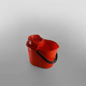 12 Litre Deluxe Mop Bucket [Red]