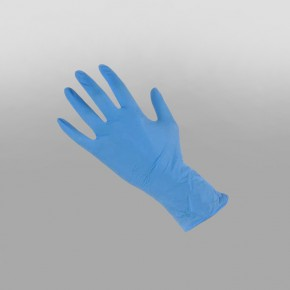 Nitrile Gloves Blue Powder Free