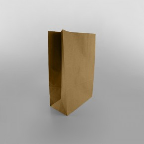 Brown Medium Kraft Grocery Paper Bag