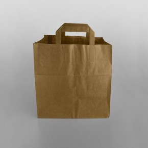 Brown Paper Carrier Bag Extra Wide
