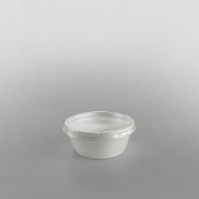 Dart [6CLR] Plastic Lid Clear  [2, 4, 7oz]