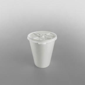Dart Plastic Lid Lift n' Lock White