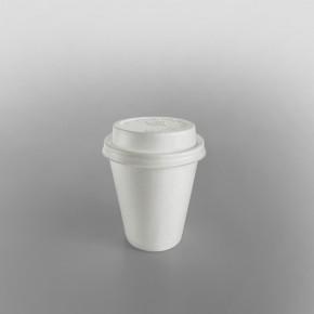 Dart Plastic Lid Cappuccino White