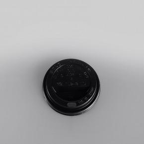 Solo Plastic Lid Sip Thru Black