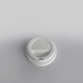 Solo Plastic Lid Sip Thru White