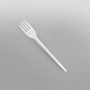 Plastic White Economy Forks