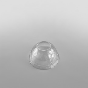 Solo Plastic Lid Domed Clear