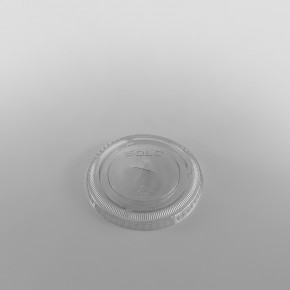 Solo [M640S] Plastic Lid Straw Slot Clear [12oz] for TP22