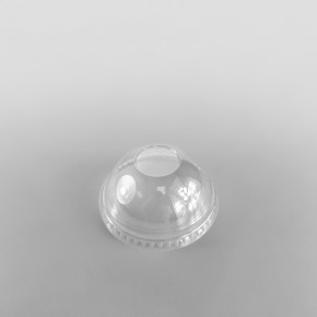 Somoplast Clear Closed Domed Lids for PET Cold Cups
