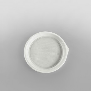 Somoplast Plastic White Plates