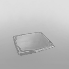 Sabert 5 Compartment Plastic Platter Lid