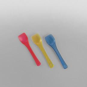 Plastic Gelato Ice Cream Spoons