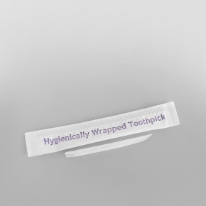 Plastic Wrapped Toothpick